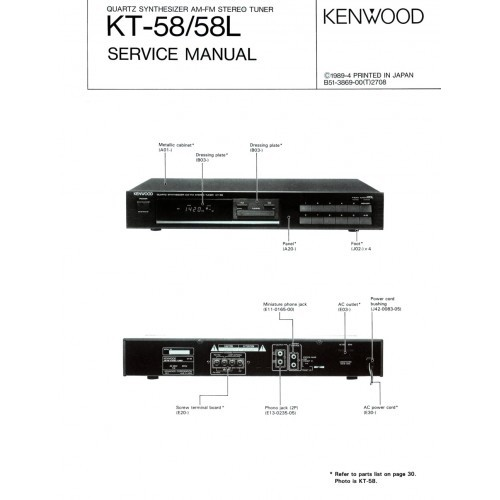 kenwood car stereo service manuals