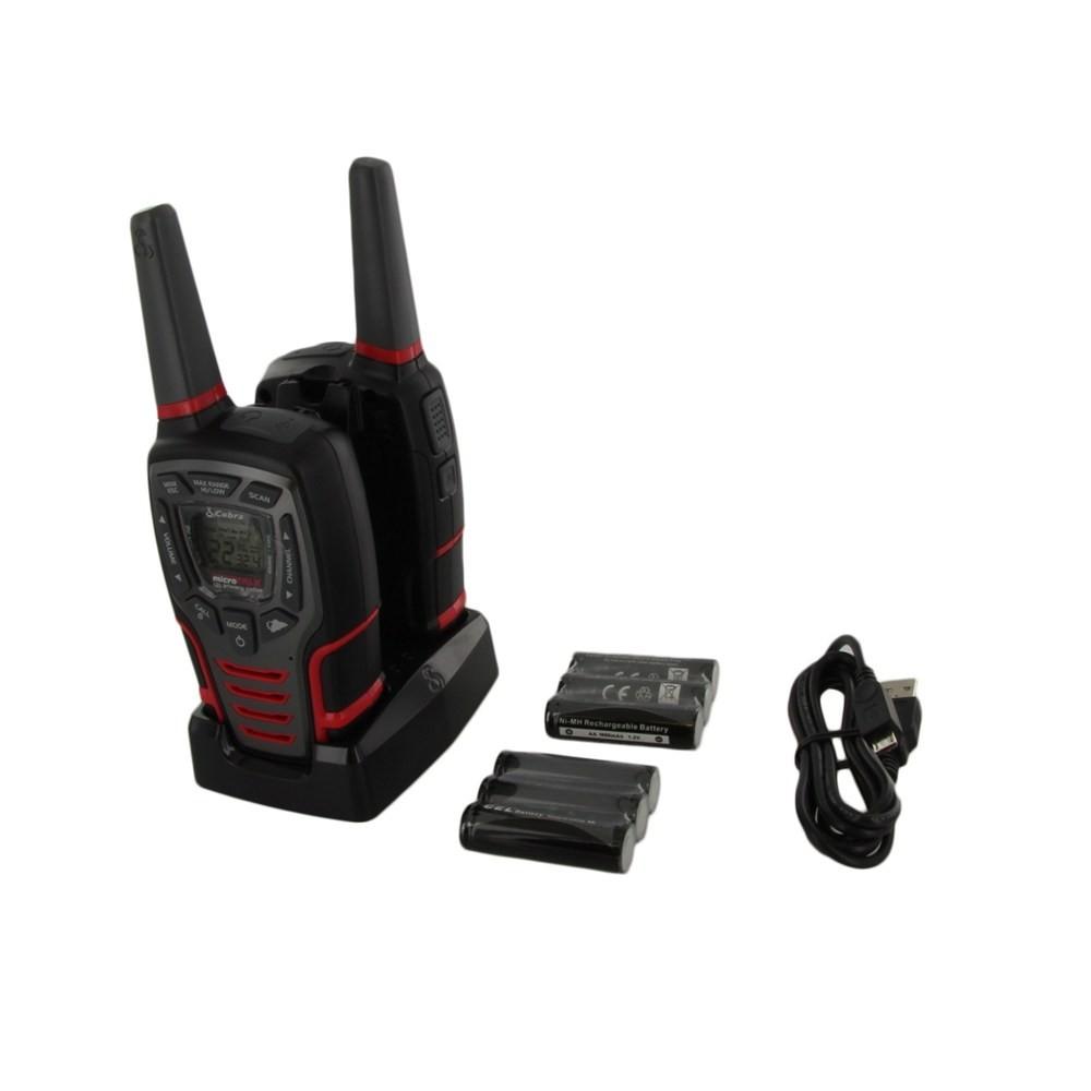 cobra microtalk two-way radios cxt 345 manual