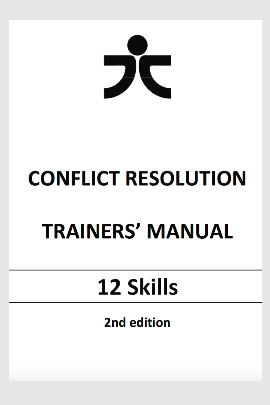 conflict resolution trainers manual 12 skills