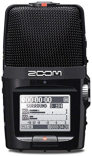 zoom h2 recorder user manual