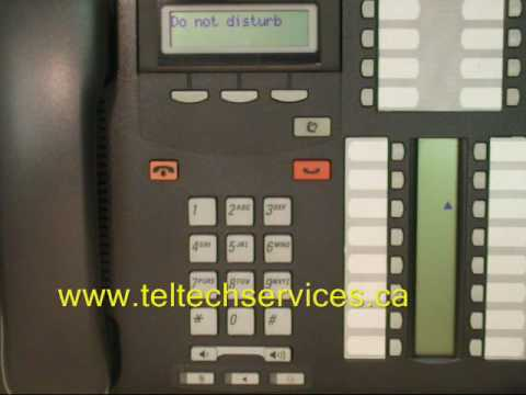 nortel t7316e manual time change