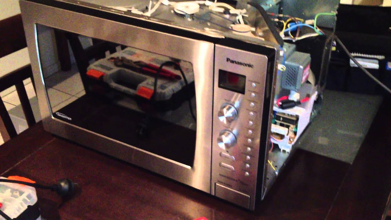 manual on using a microwave