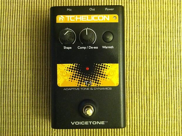tc helicon voicetone e1 manual