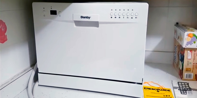 danby countertop dishwasher user manual