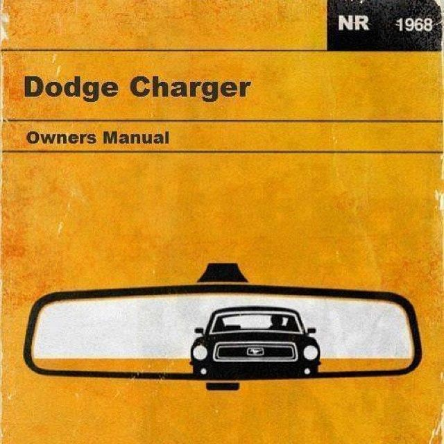 1969 dodge charger assembly manual