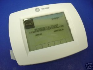 trane digital thermostat xl802 manual