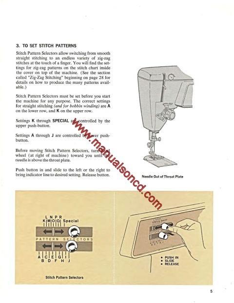 euro-pro 32-stitch sewing machine manual