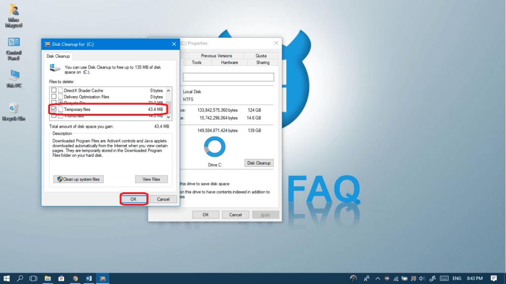 delete windows.old folder manually