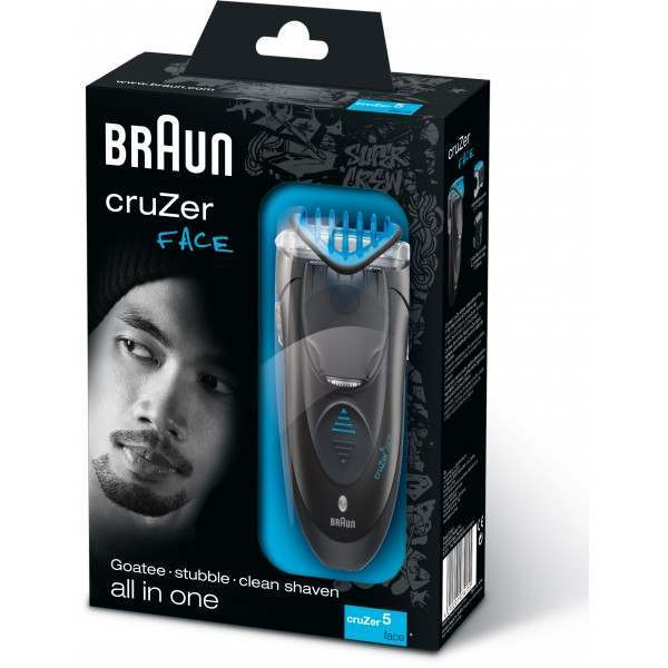 manual for braun electic shaver