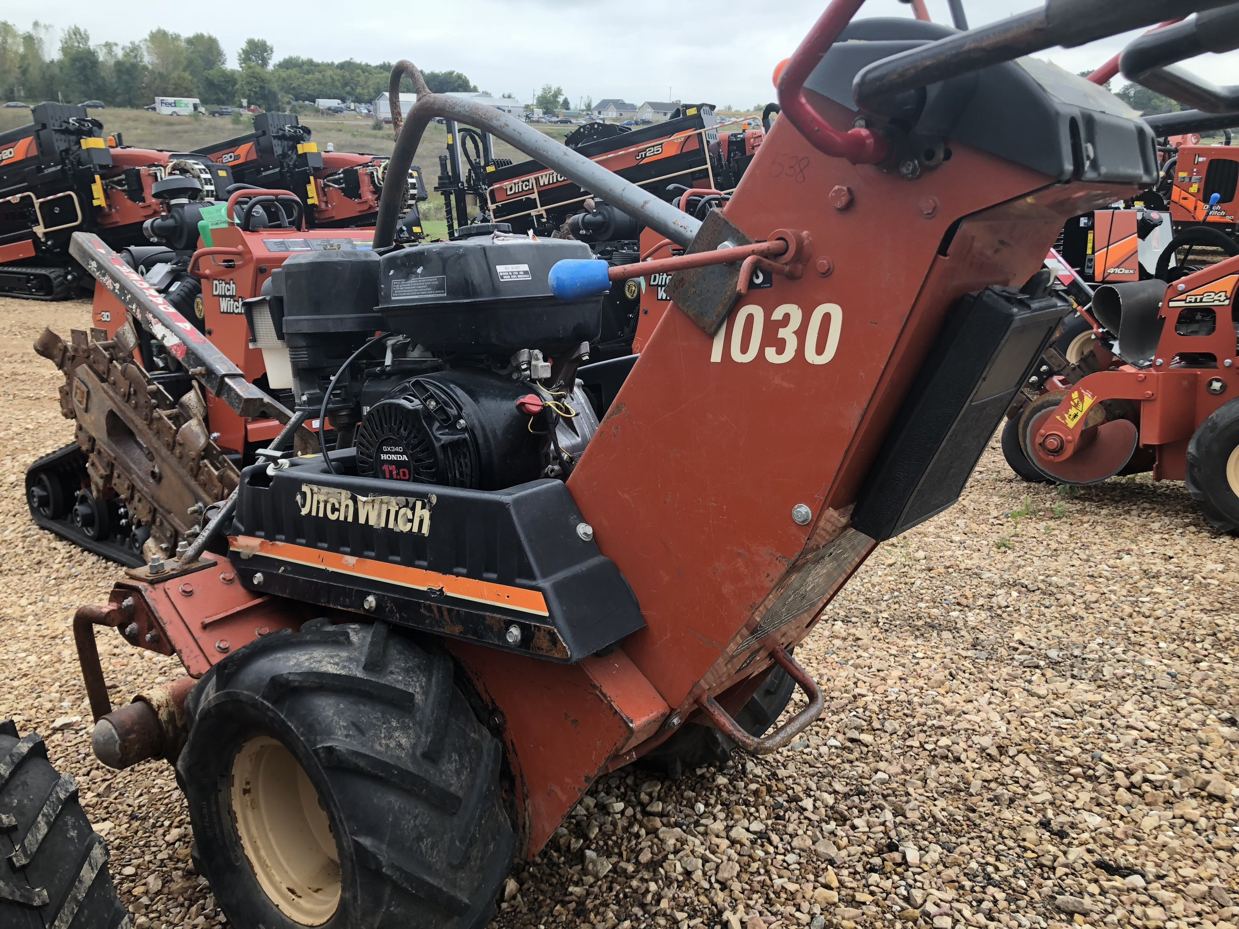 ditch witch jt 5 manual
