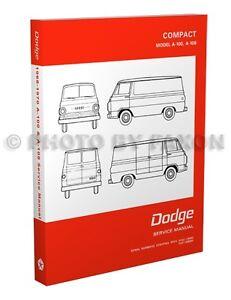 dodge dart factory service manual