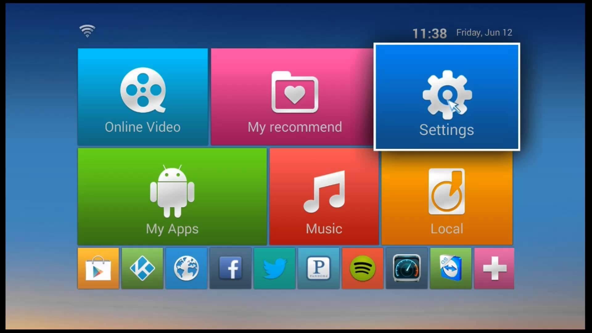 download kodi manually on android box