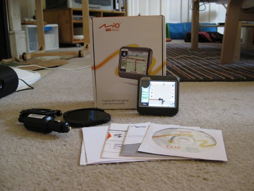 mio digiwalker gps c220 manual