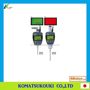 mitutoyo id-f125 user manual