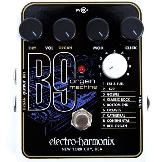 electro harmonix b9 organ machine manual