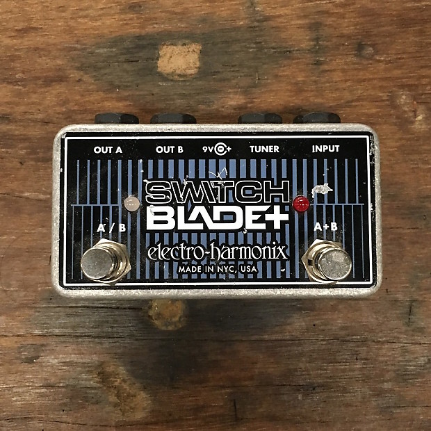 electro harmonix switchblade plus manual