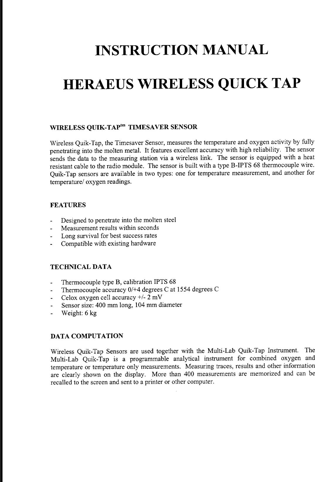 electro nite checkmate 4 manual