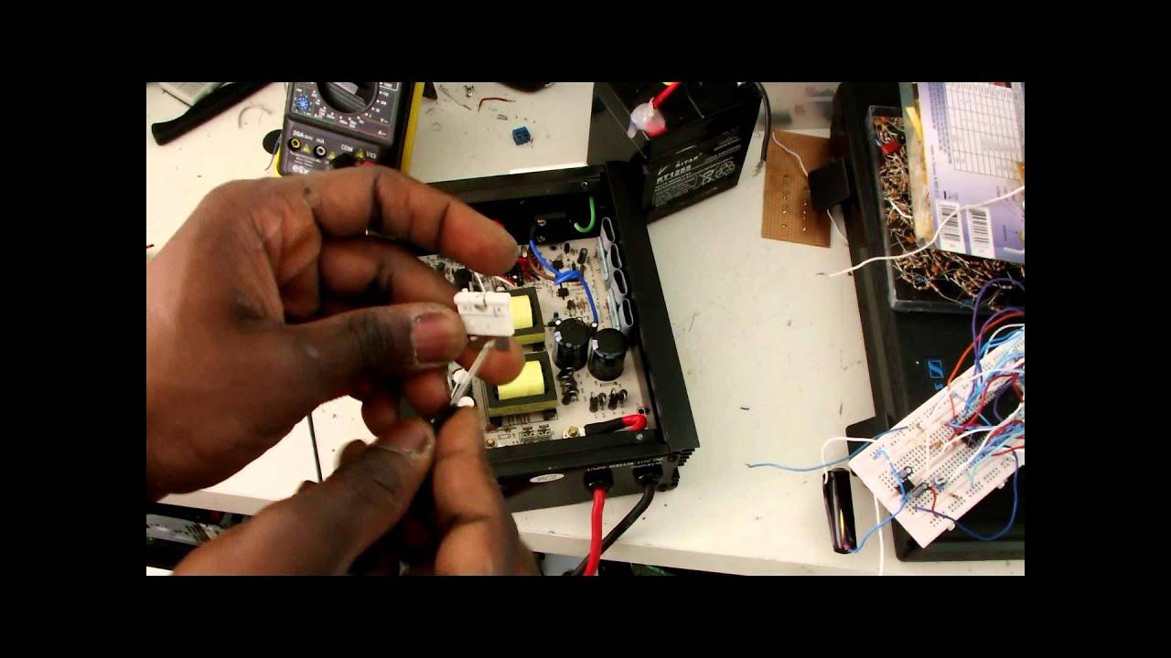 eliminator 1500 watt inverter manual