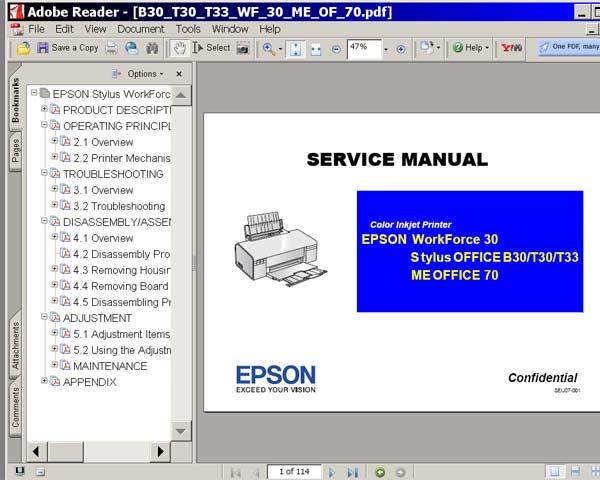 epson stylus nx100 printer manual