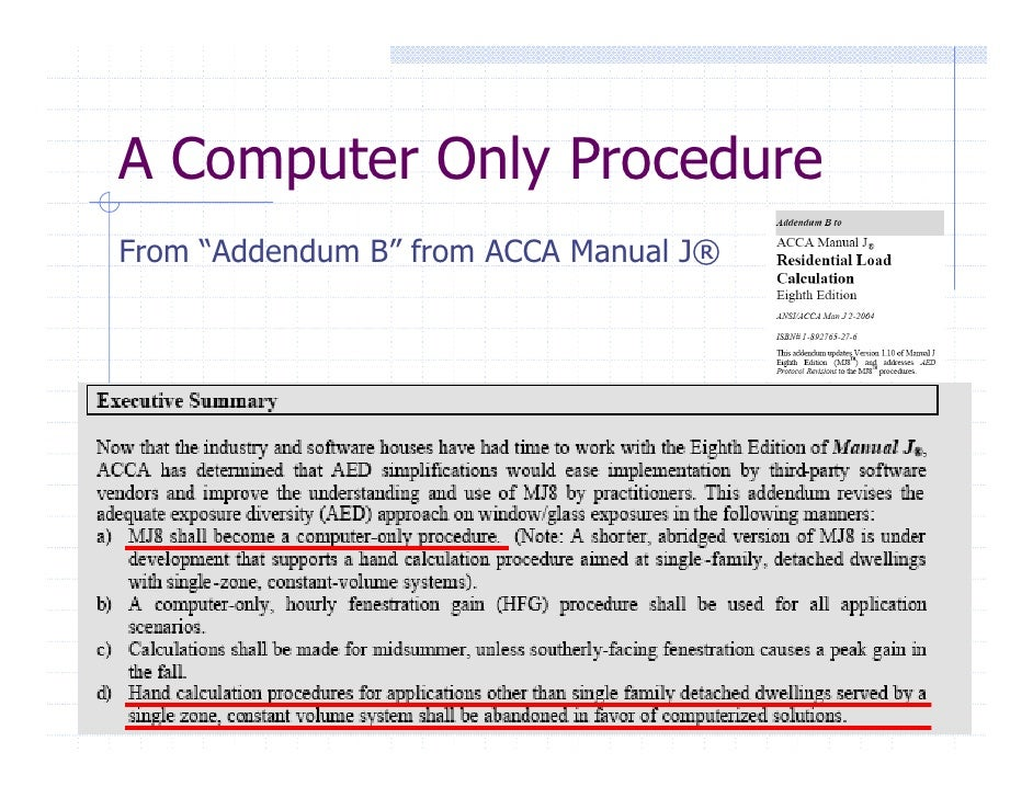 acca manual j table 1a