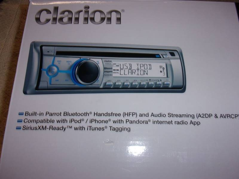 clarion m303 marine stereo manual