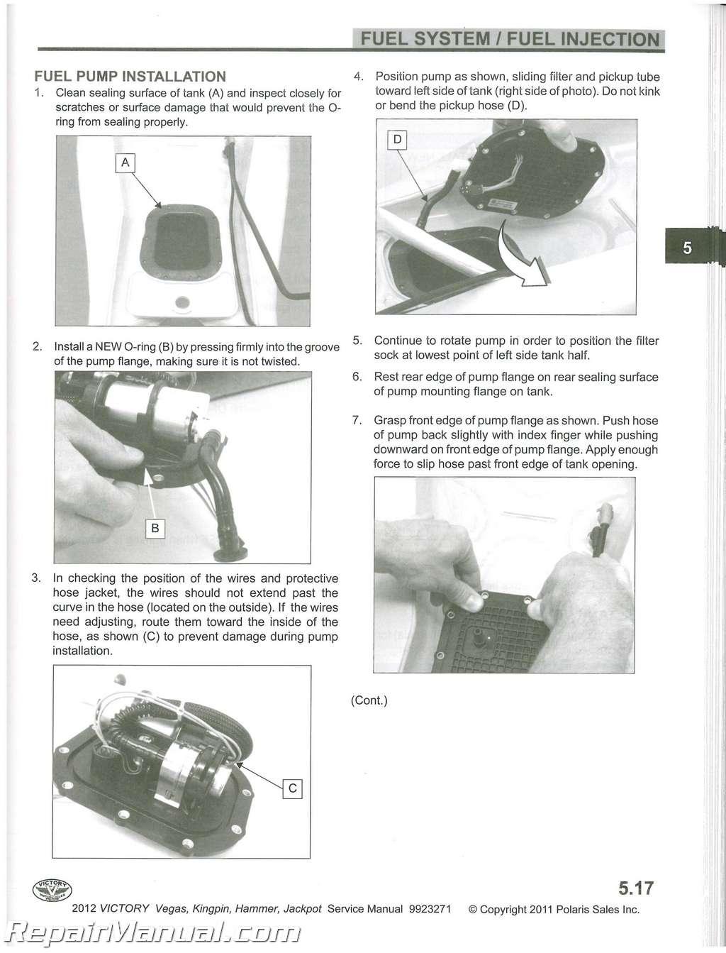 2014 victory highball service manual