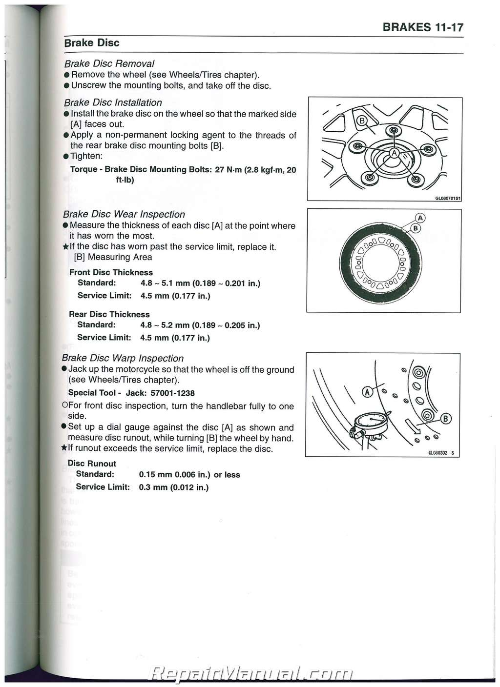 2008 kawasaki ninja zzr600 assembly manual