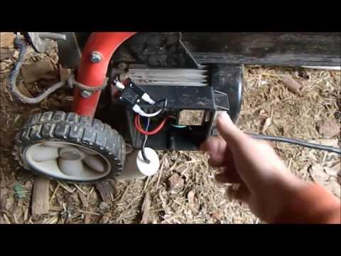 yardworks 9 ton electric log splitter manual