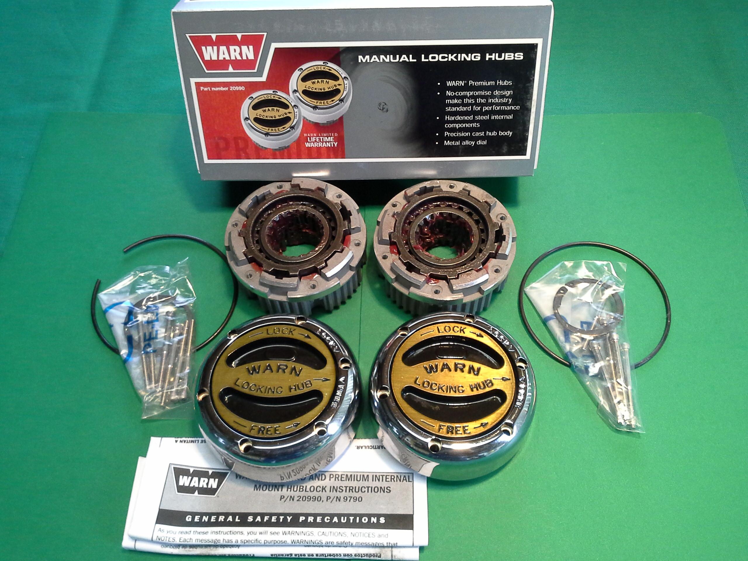 1999 gmc jimmy manual locking hubs