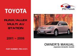 canada 2001 toyota rav4 owners manual