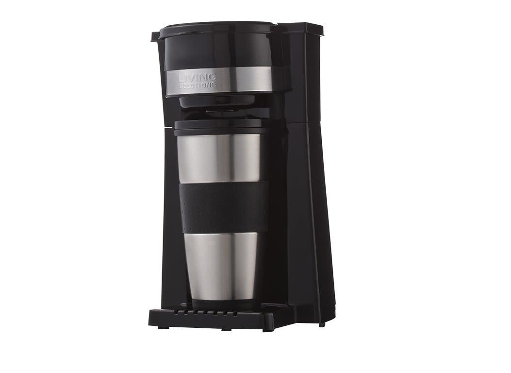 living solutions single serve coffee maker manual