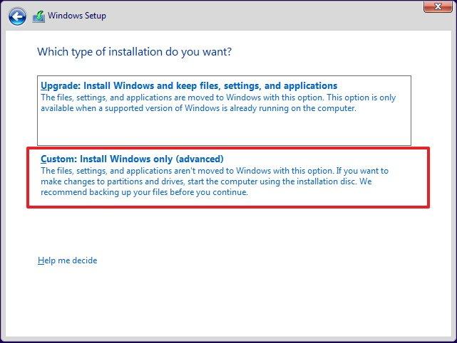 windows 10 manual driver installation