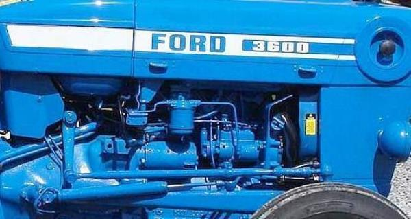 ford 3600 diesel tractor manual