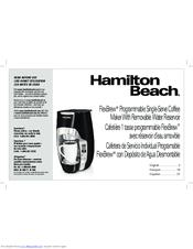 hamilton beach flexbrew 49995r manual