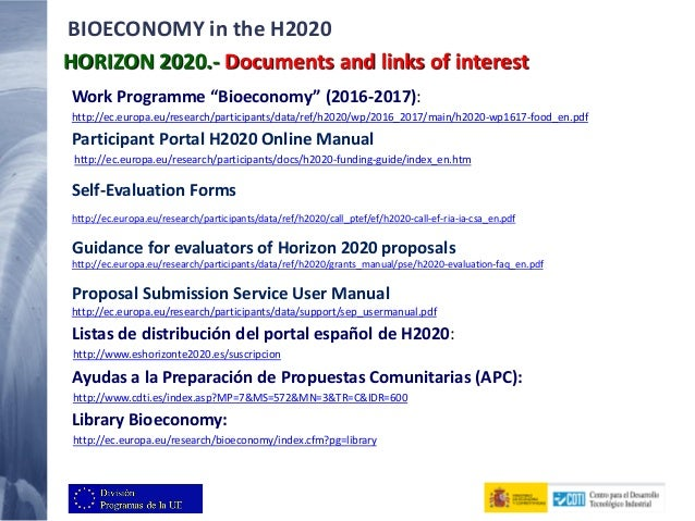 horizon 2020 proposal submission service user manual