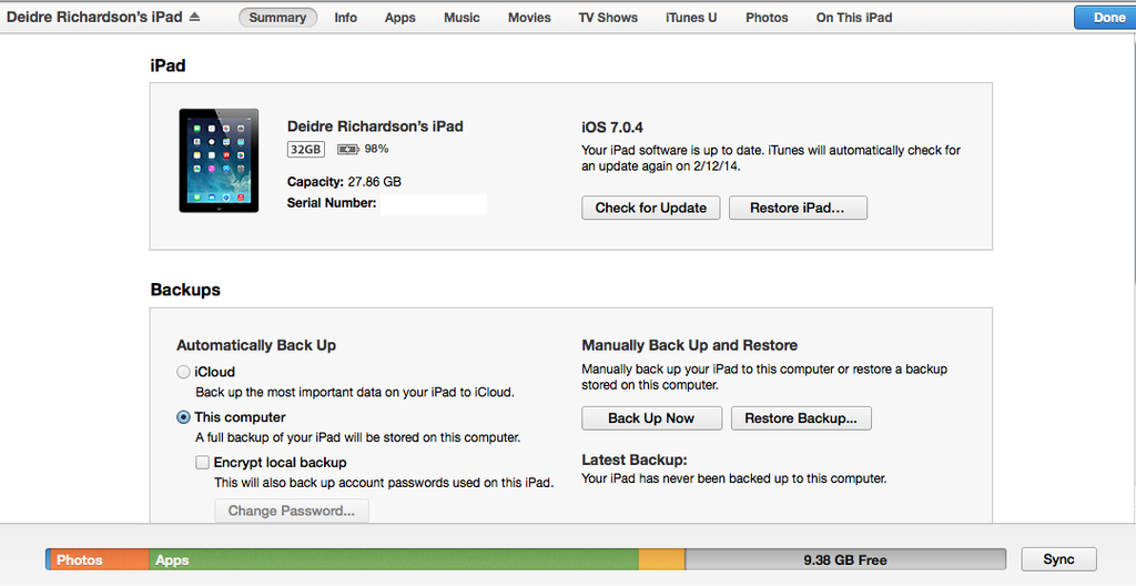 how do you manually backup iphone to pc