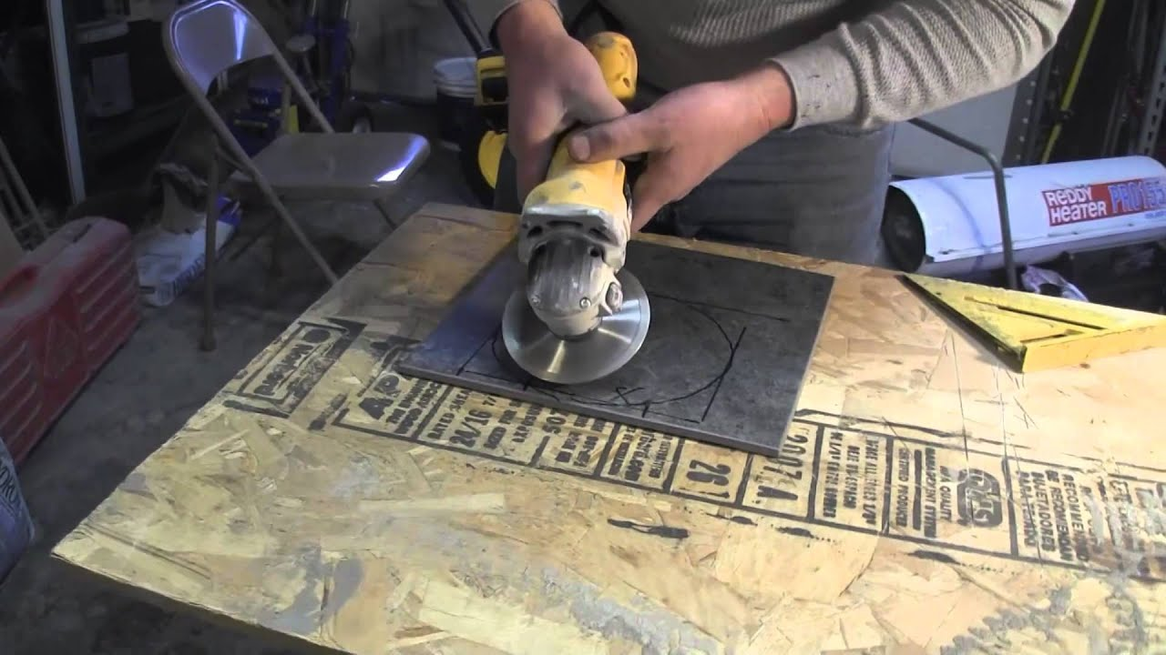how to cut porcelain tile manually