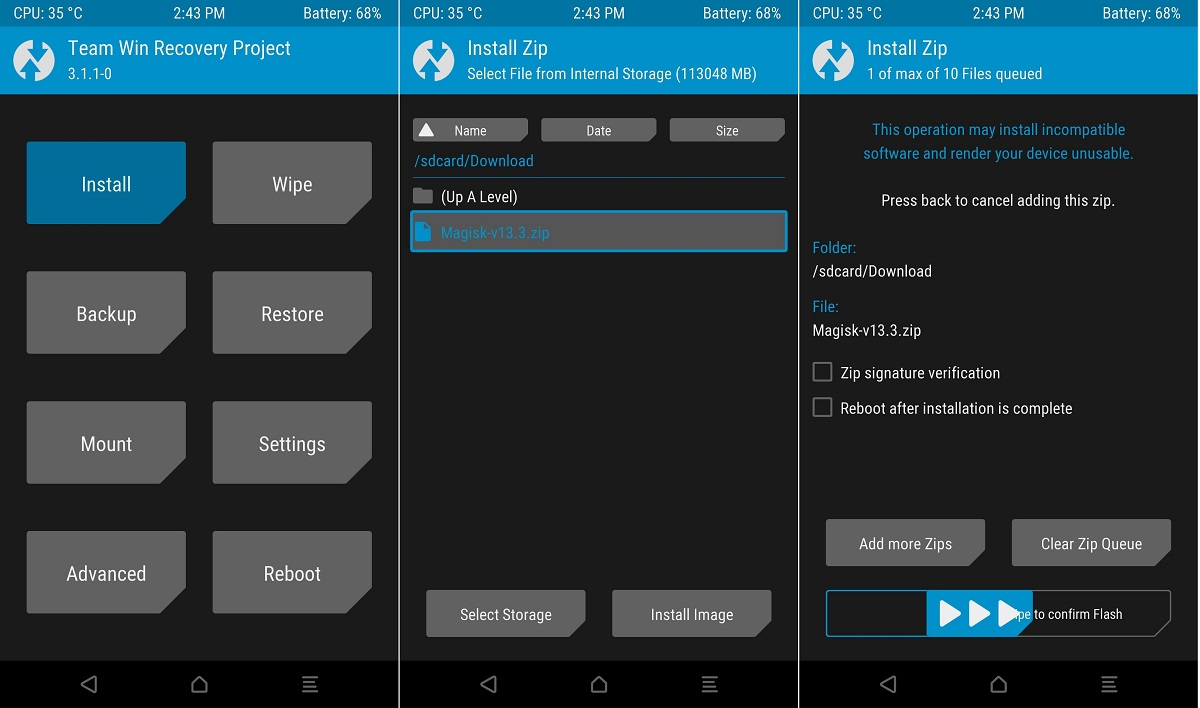 how to install the manual update for itune latest version