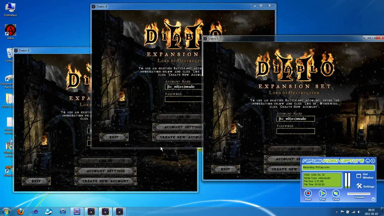 how to manually update diablo 2