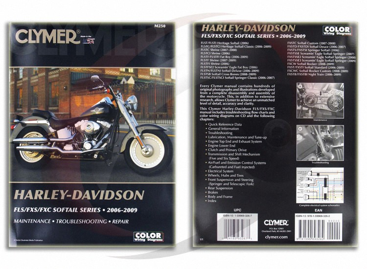 instructions manual for harley softail 2006