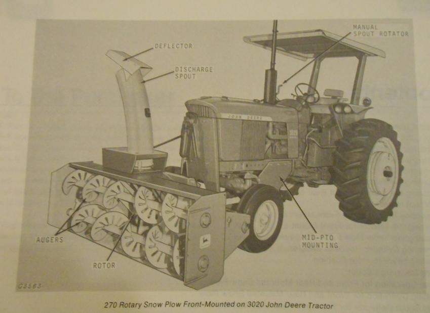 john deere d140 snow blower manual