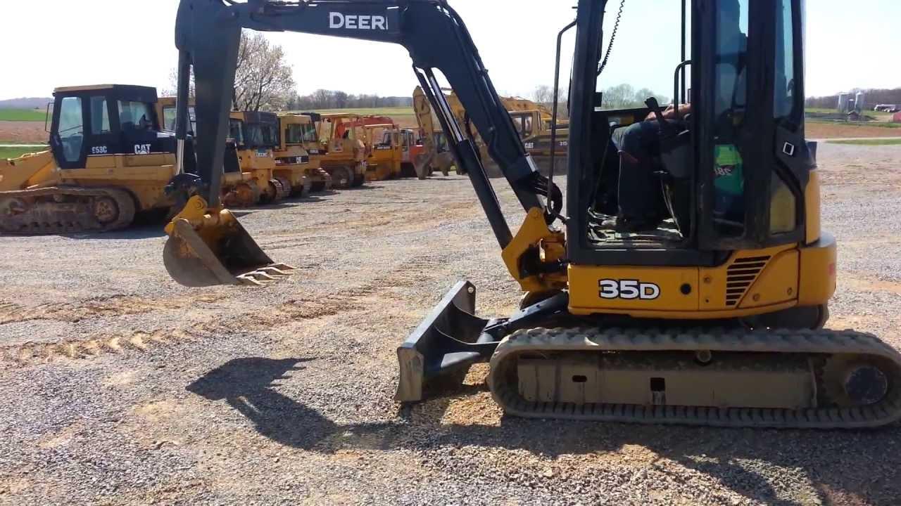 john deere mini excavator 35d manual