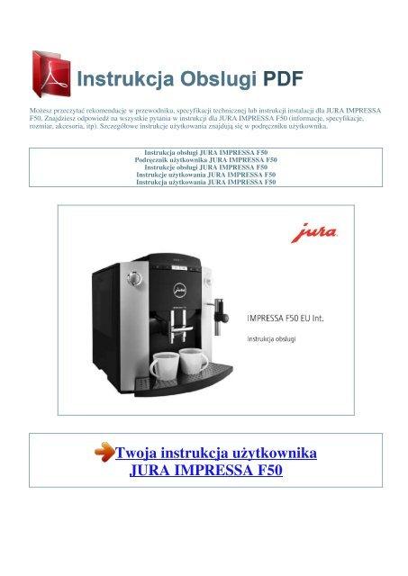 jura impressa x9 manual svenska
