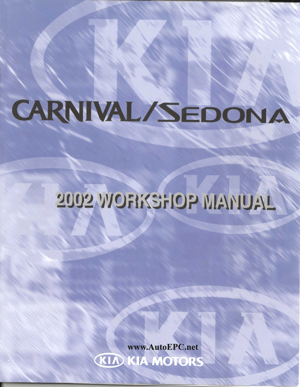 kia sedona service manual download