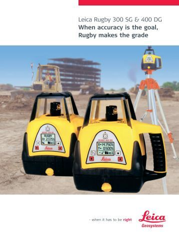leica rugby 50 user manual