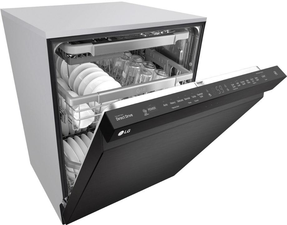 lg direct drive dishwasher manual auto