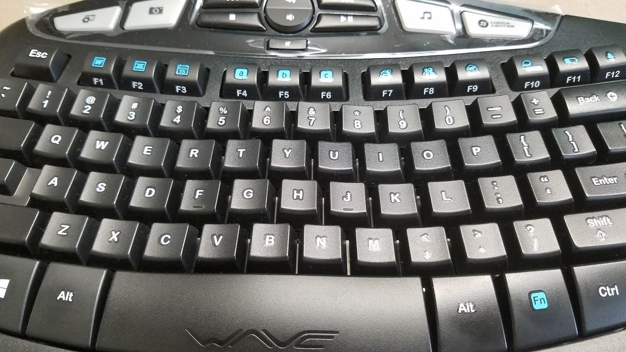logitech k350 comfort wave keyboard manual