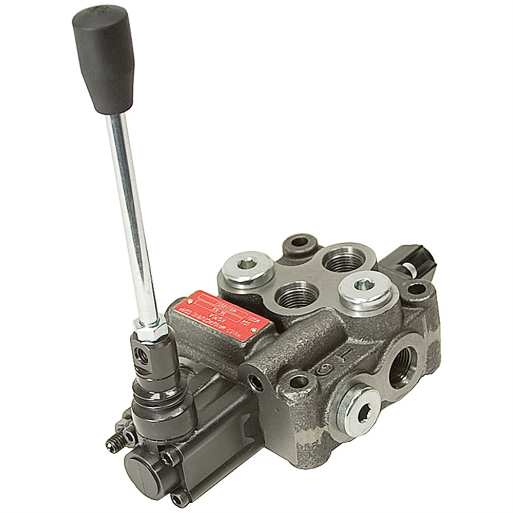 manual air control valve 4-way