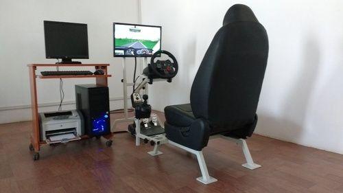 manual car driving training simulator