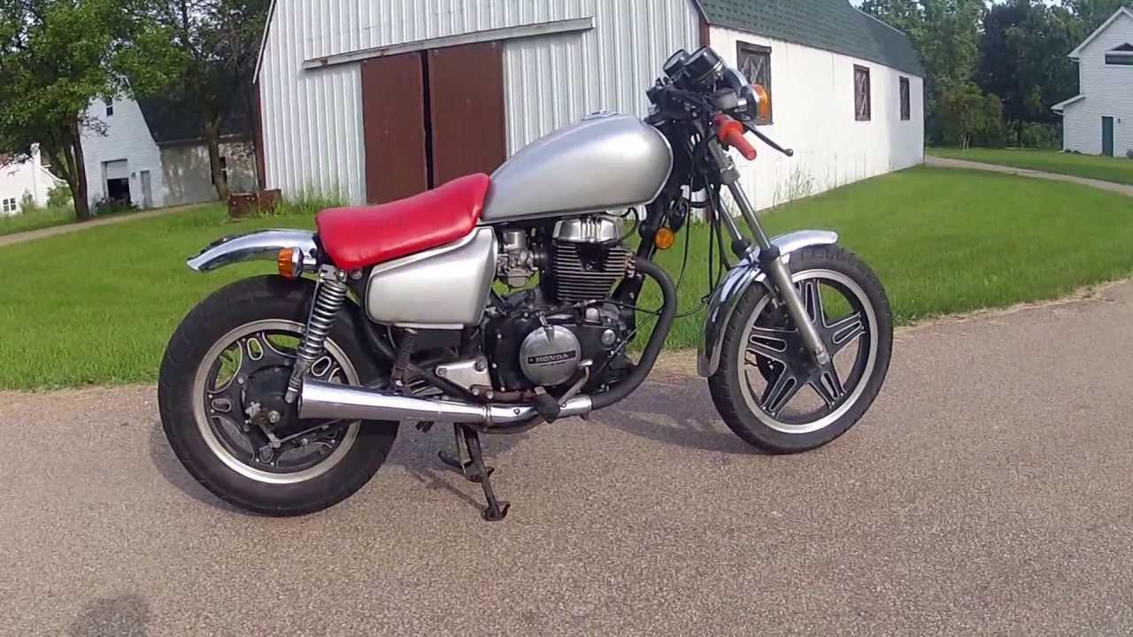 manual for honda 450 1982